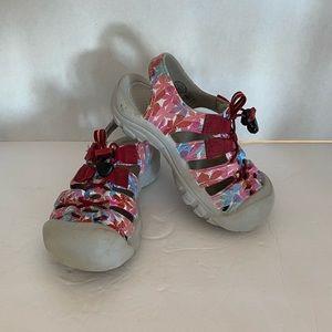 Girls Keen Sandals Floral Size: 13